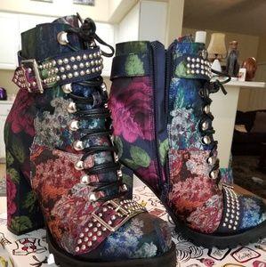 Jeffery Campbell studded boot